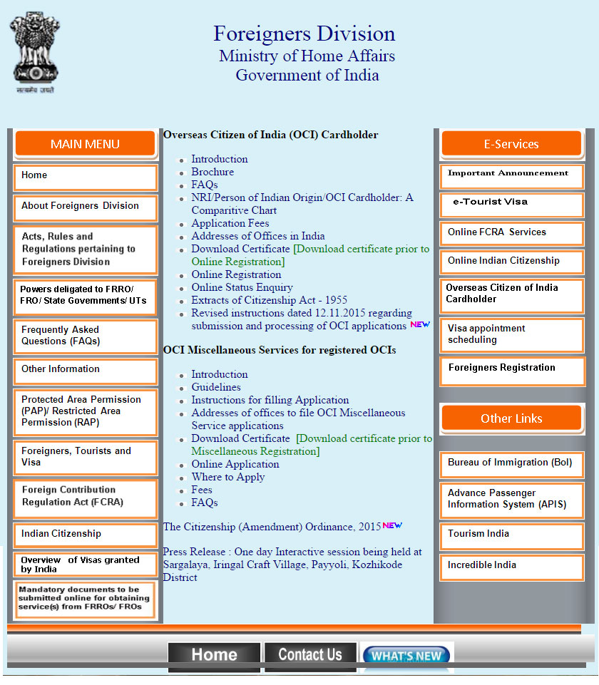 How to apply for overseas citizenship of india oci and step 2 xflitez Image collections