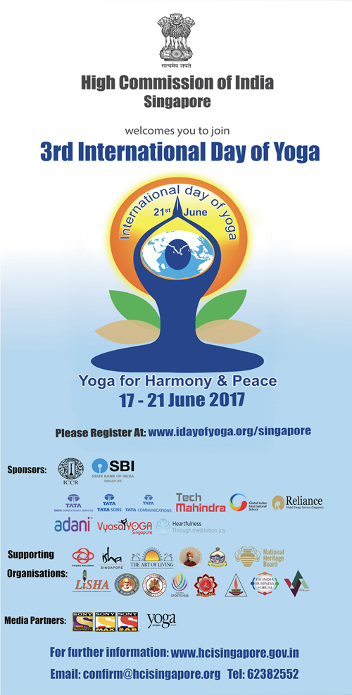3rd International Day of Yoga
